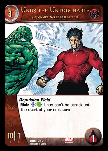 Unus the Untouchable Supporting Character