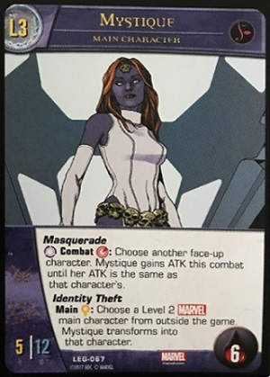 Mystique Main Character Level 3