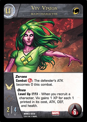 Viv Vision Main Character Level 1