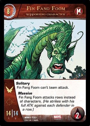 Fin Fang Foom Supporting Character